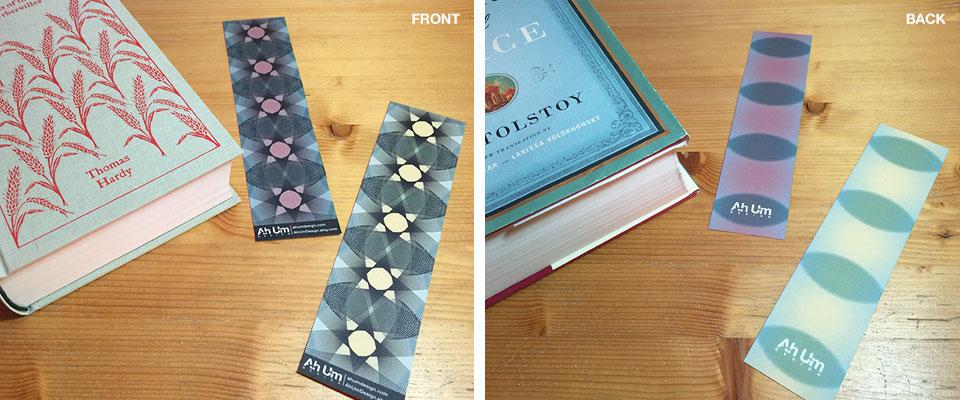 Ah Um Design Freebie Bookmarks