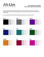 Ah Um Design Swatches 001-006